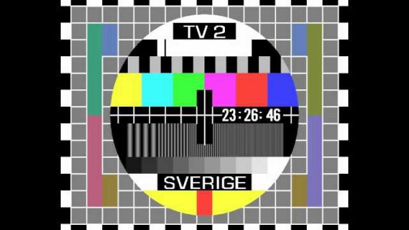 Gammelt SVT2 prøvebilde testbild