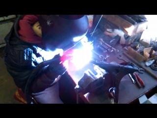 Ремонт паука от мотоцикла .