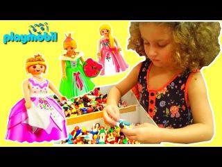 Очень много игрушек - все принцессы, конструкторы, фигурки Playmobil/МЕГA выставка Playmobil LEGO1/3