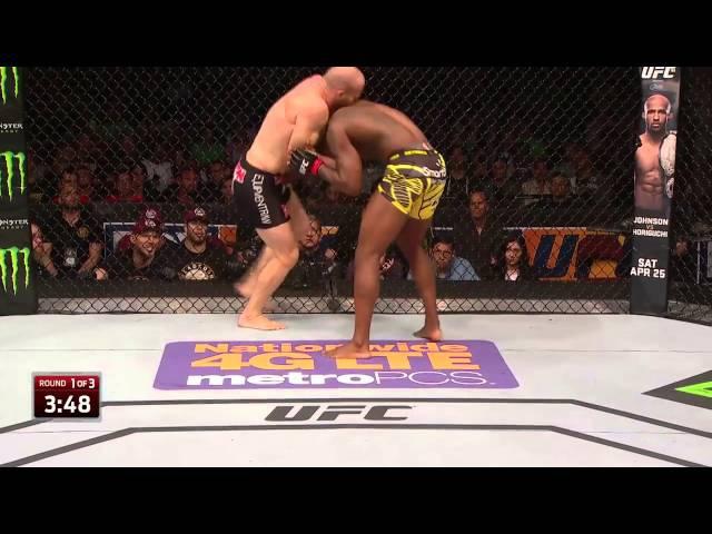 UFC 197 Free Fight Ovince Saint Preux vs Patrick Cummins