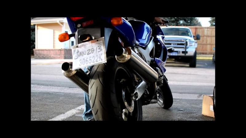 Exhaust VTR 1000 Superhawk Danmoto Carbon GP
