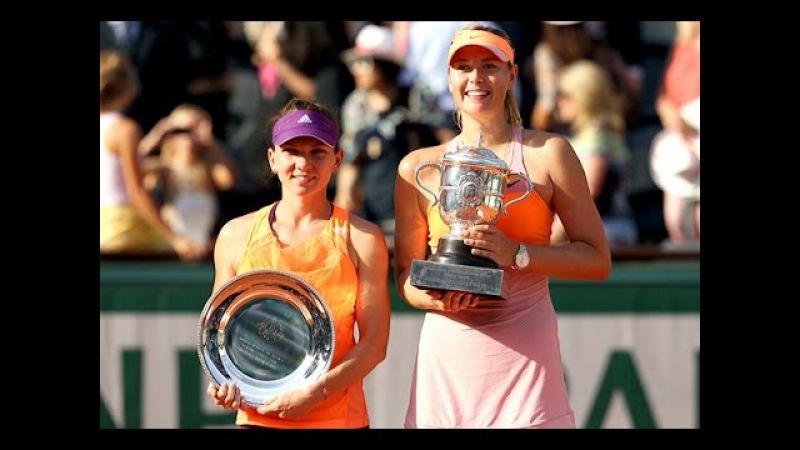 Maria Sharapova VS Simona Halep RG 2014 F Full