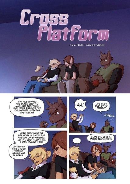 Cross Platform Furry Comic