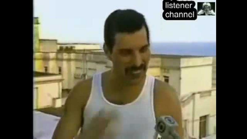 Фредди Меркьюри Интервью в Бразилии РУССКИЙ ПЕРЕВОД Rock in Rio 1985г