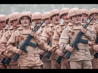 Парад Победы на базе Хмеймим совместно между армиями России и Сирии