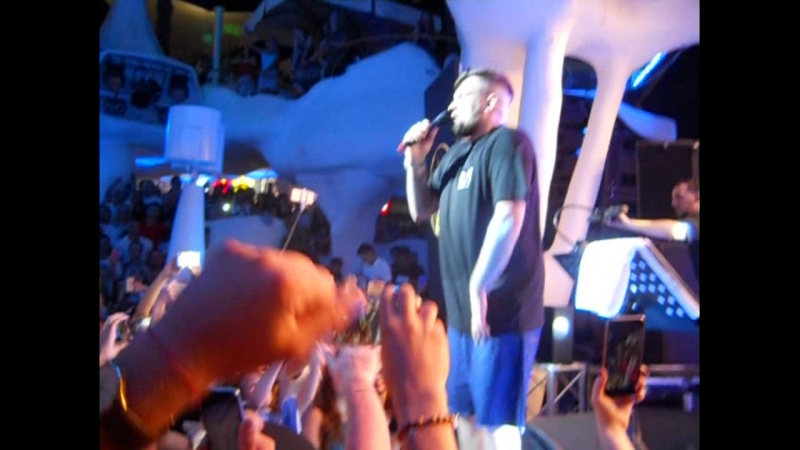 Баста - Медлячок 19.06.2016 IbizaBeachClub Odessa