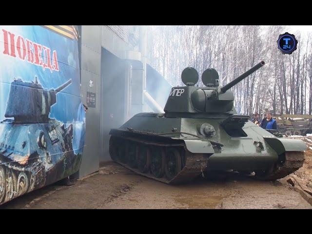 Танк Т-34-76. Часть 2 | Реставраторы | Т24