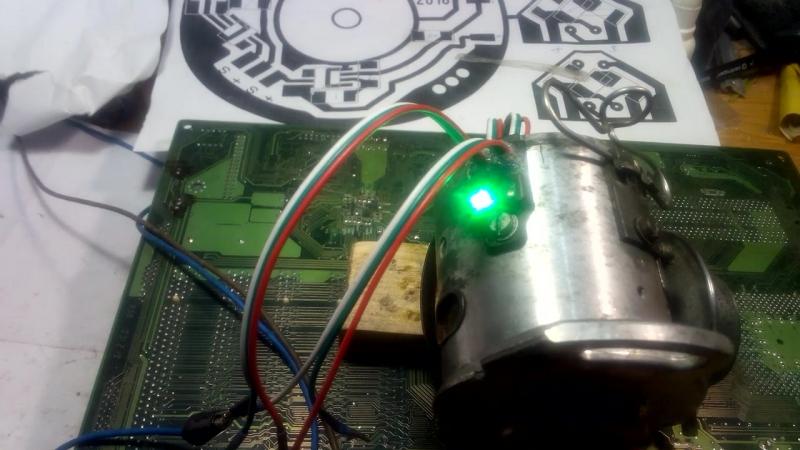 Робота индикатора оптических датчиков двухконтурное зажыгания.