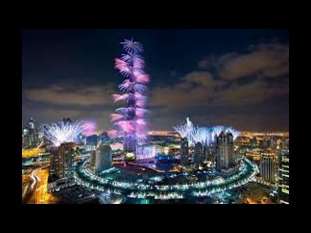 Дубай Салют 2019 Новый Год Dubai New Year fireworks 2018 HD
