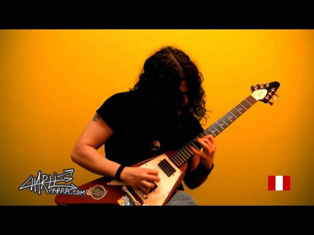 Charlie Parra Dek Riego Trapped Melodic Metal guitar