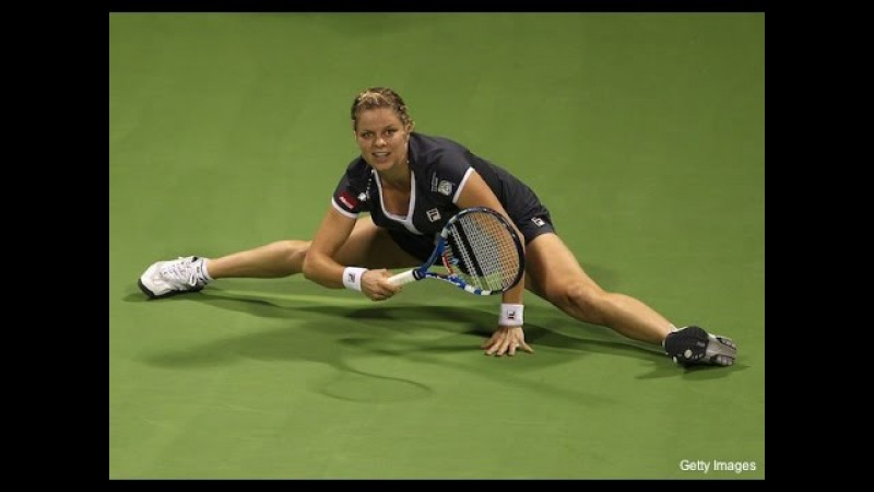 Kim Clijsters VS Jelena Jankovic Highlight 2010 YEC RR