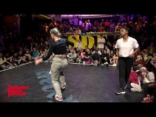 Khoudia vs Katya Joy 1ST ROUND BATTLES House Dance Forever - Summer Dance Forever 2017