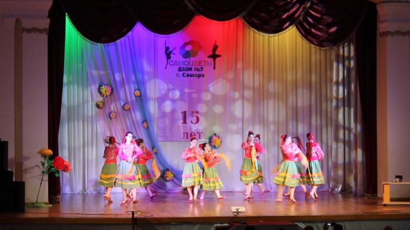 Казачий танец Молодычка Отчетный концерт 2017