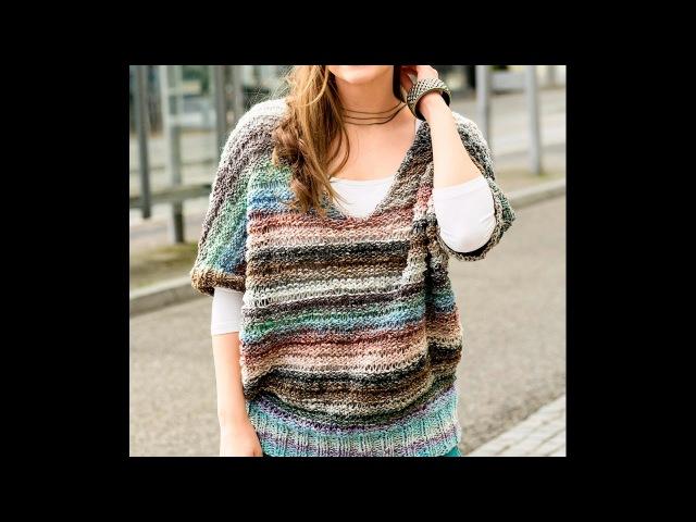 Красивые Вязаные Женские Безрукавки Спицами - 2019 Beautiful Women Sleeveless Knit spokes