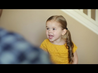 Youve Got a Friend in Me (Toy Story Song) - 3-Year-Old Claire Ryann and Dad