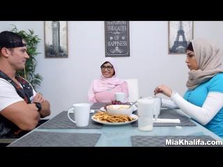 Mia khalifa, julianna vega stepmom & gf share bfs dick [all sex, hardcore, blowjob, threesome]