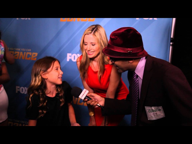 Exclusive Interview With Mira Sorvino Millie Bobby Brown At So You Think You Can Dance 11 Finale