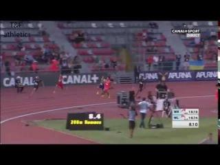Christophe Lemaitre wins 200m - Decanation 2016