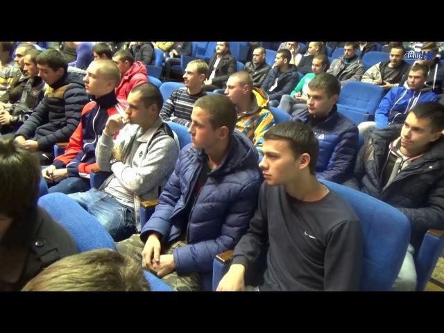Торжественные проводы в армию волковысских парней