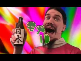 Японская реклама напитка