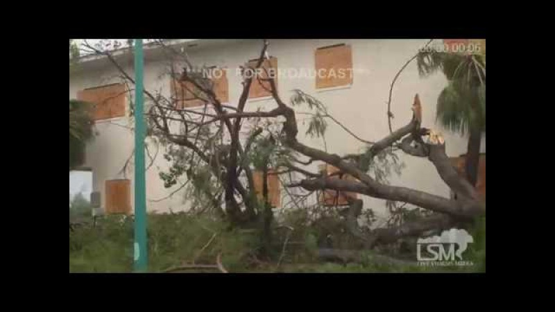 Nassau Bahamas Damage Dash Cam Video 10 6 16