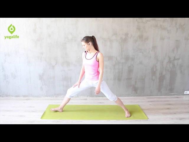 Упражнения для коленей комплекс упражнений для укрепления коленных суставов Yogalife