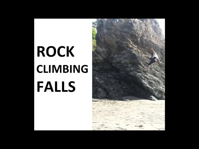 Rock Climbing Falls, Fails and Whippers Compilation Part 1