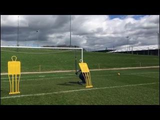 Nike academy goalkeeper training (andre alexis junior