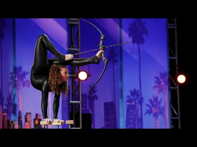 Snake Dance on Ameica's Got Talent Sofie Dossi