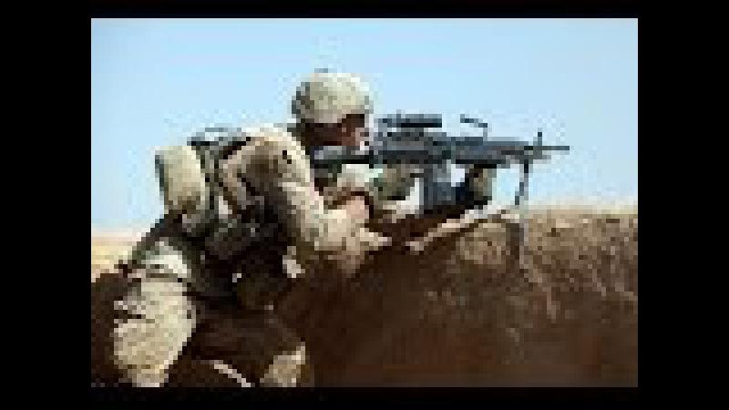 US Marines With Bravo Company During Integrated Training Twentynine Palms California