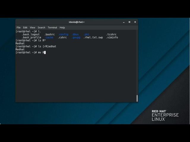 21. Регулярные выражения RHEL 7.4 Beta (Maipo)
