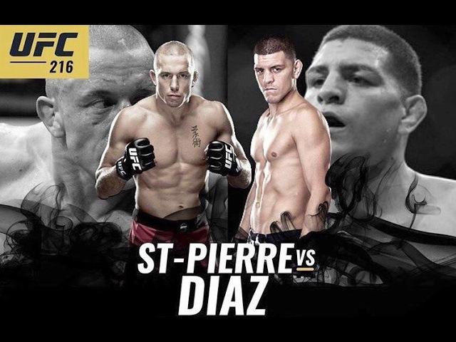 UFC 216: GEORGE ST-PIERRE VS NICK DIAZ 2 PROMO » FreeWka - Смотреть онлайн в хорошем качестве