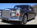 1972 Mercedes 600 Test Drive