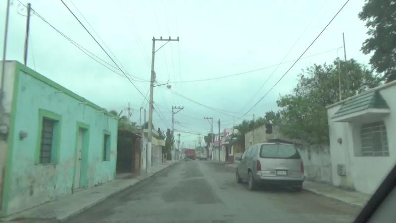 199 Из Вальядолида к Рио Лагартес Мексика Тизин