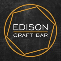Логотип EDISON craft bar