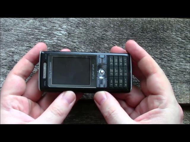 Sony Ericsson K790i одиннадцать лет спустя 2006 ретроспектива