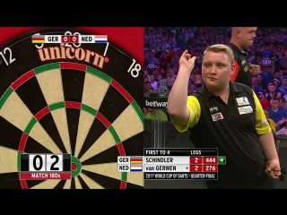 Germany v Netherlands (PDC World Cup of Darts 2017 / Quarter Final)