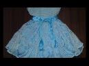 Нарядное белое платье. Часть 1. Кокетка.(attire baby dres)
