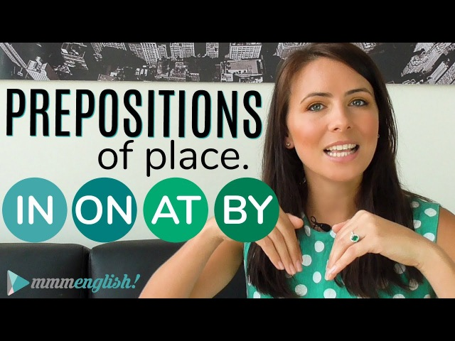 Prepositions of PLACE 👉 IN / ON / AT / BY 👈 Common English Grammar Mistakes