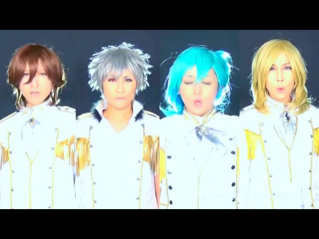 Quartet Night God's S T A R コスプレパフォーマンス by Prince of Musical sub