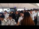 161203 ~ BTS departure at Hong Kong airport