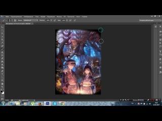 Как сделать стоковую аниме аватарку в фотошопе PS CS6