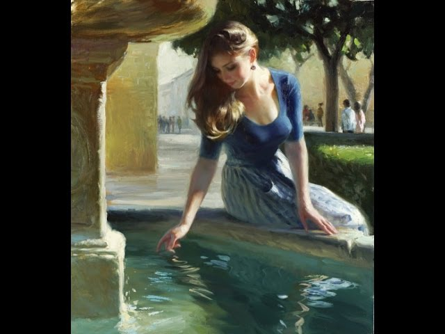 Vladimir Volegov paintings ✽ Francis Goya If You Go Away Romantic music