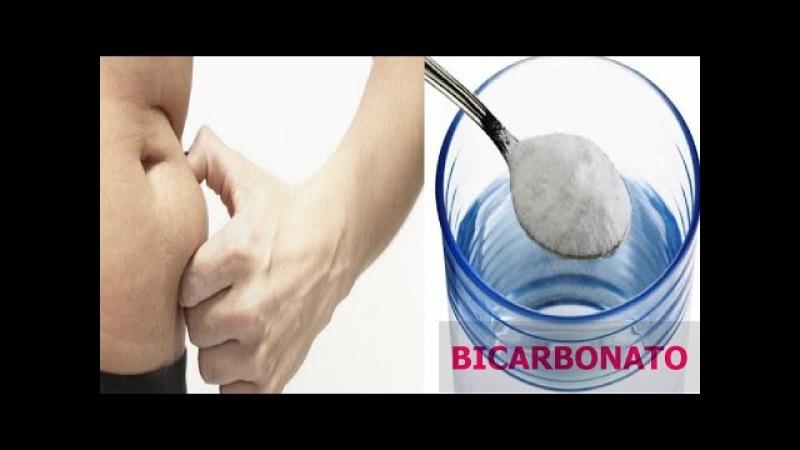 El BICARBONATO DE SODIO Derrite la grasa dela barriga, muslos brazos y espalda Preparalo Así!