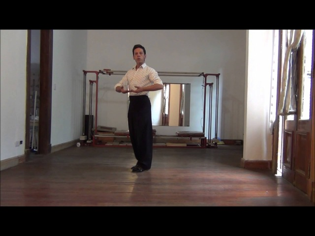 Тренировка для мальчиков от прекрасного Аргентинского тангеро Нани Перальта EJERCICIOS GIROS BY NANY PERLTA