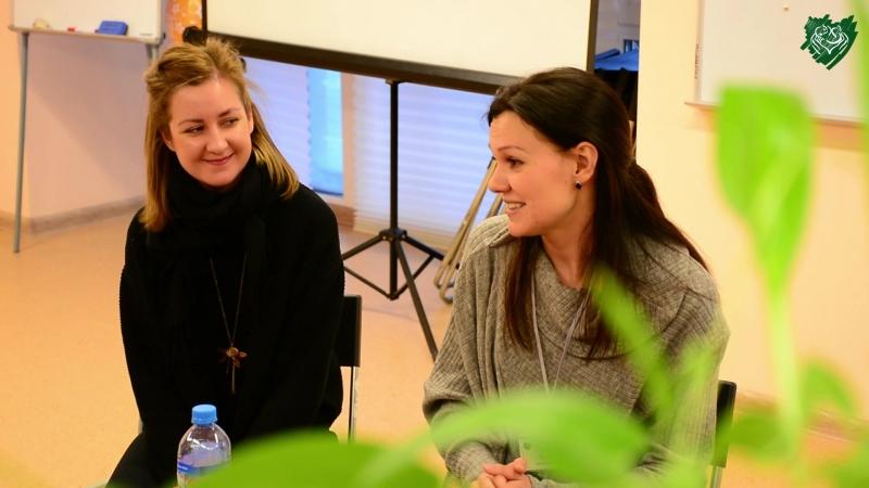 Зачётный гость актриса Алиса Варова в детском доме РКТК