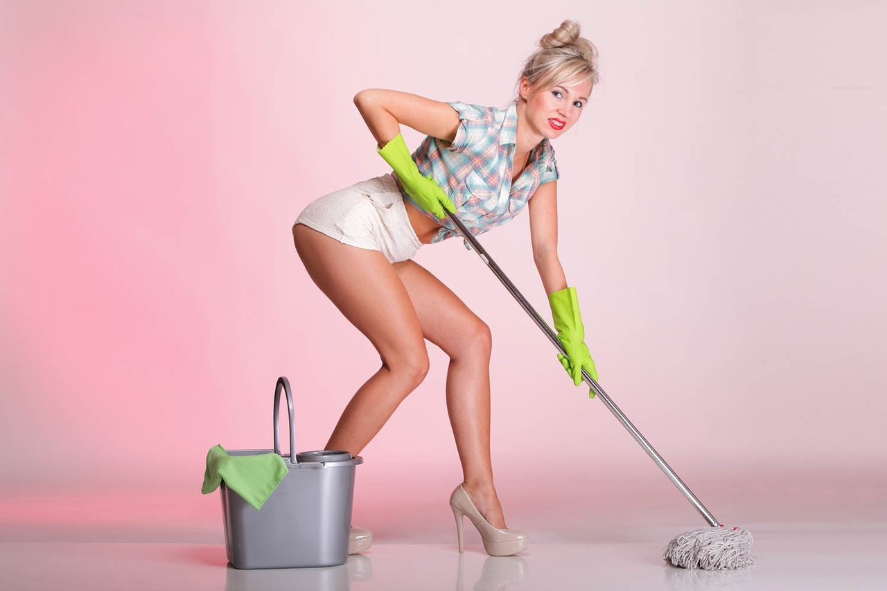 Cleaning tits gifs