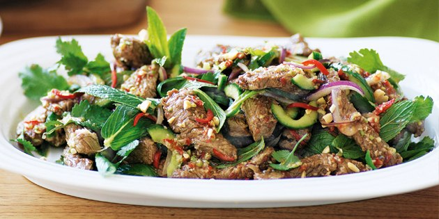 10 салатов для тех, кто любит мясо, изображение №4