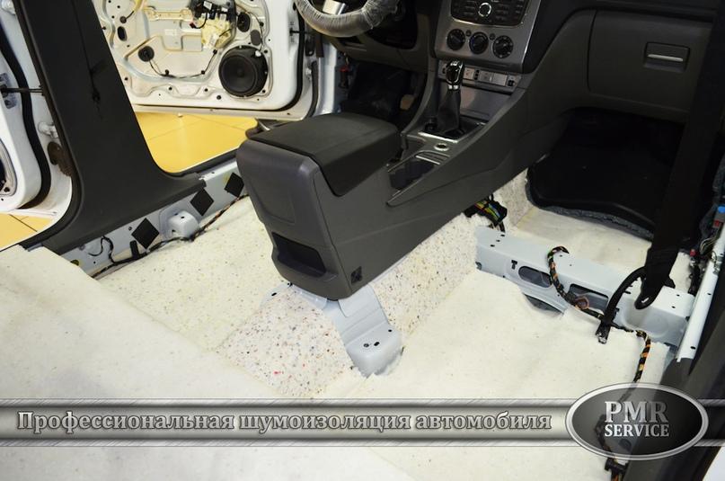 Шумоизоляция Ford Focus 2, изображение №5