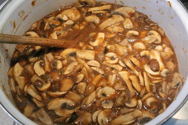 Грибной суп с шампиньонами, изображение №5